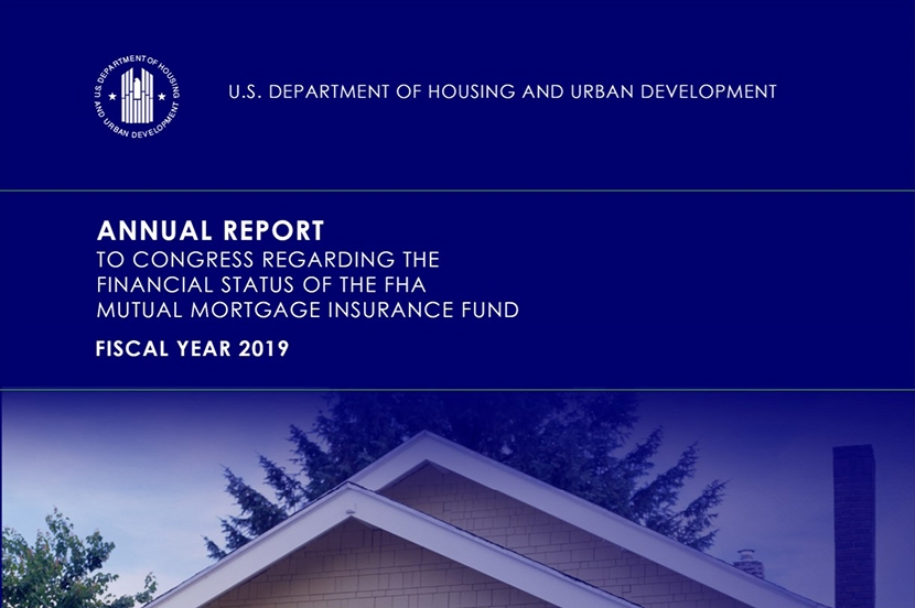 FHA Actuarial Report Shows MMI Fund Capital Ratio At 12
