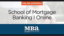 MBA School of Mortgage Banking Online